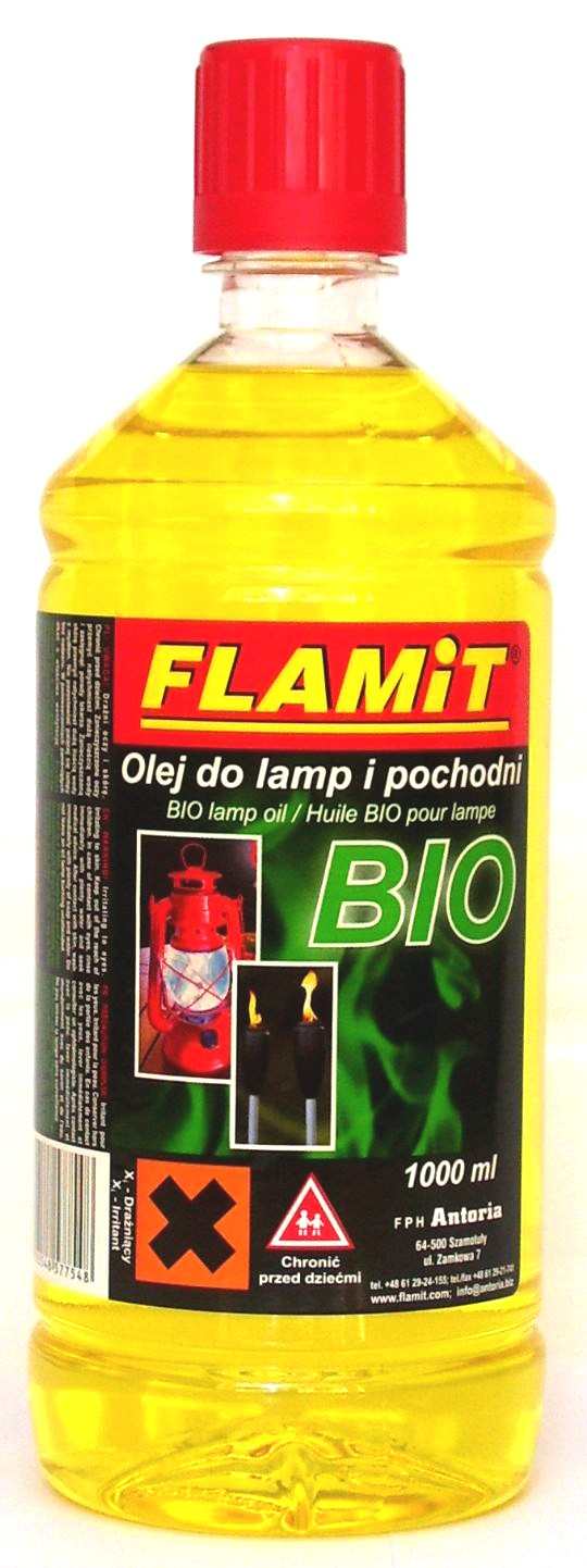 Olej do lamp i pochodni BIO 1000ml Zółty